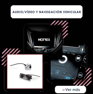 Audio/Vídeo y navegación vehicular MOTREX Colombia